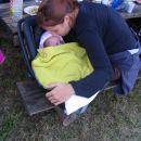 najmlajša udeleženka piknika