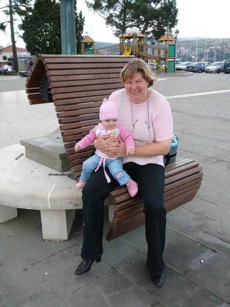 Mama nas (mene in nono Sonjo) je peljala na izlet v Koper