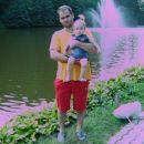 Jaz in moj tati pri treh ribnikih