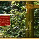 Oznaka za puščavnikovo jamo