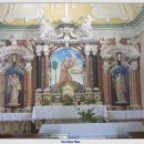 Oltar v cerkvi nad kostnico v Kobaridu