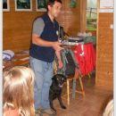Gorski reševalec Lojze s psičko Kalo