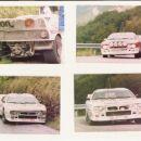 Piancavalo 1986; Lancia 037-Alessandrini(bel), Bertone?(rdeč)