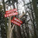 Na vrh Gozdnika , smerokaz