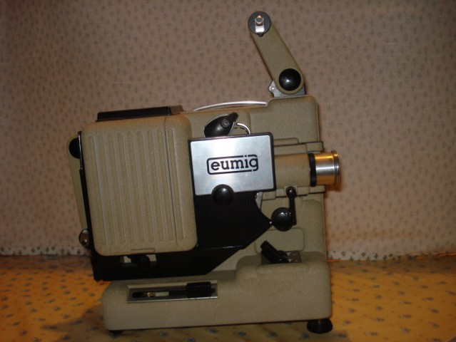 Kamera in projektor - foto