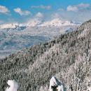Dobrča, ob prvem snegu januarja