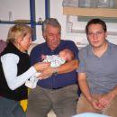 Obisk dedka in babice s Češke.