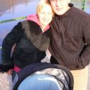 Fili, oči in mami na sprehodu ob Savi.