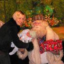 Moj prvi dedek Mraz pri očiju v službi.