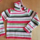 nov pleten HM pulover 140 ali 8-10