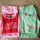 2 kompleta majice in poletnih hlač M ali 8 let ali 130