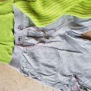 HM capri hlače, pulover in majica 140 ali 9-10 let