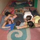 tak smo pa spali prvo noč na ladji =)