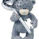 Le ti imaš ključek do mojega srca...