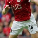 Paul Scholes na tekmi proti Fulhamu