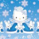 Luškana zimska Hello Kitty