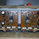 Driver/output boards before refreshment