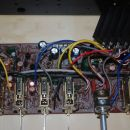 Tone control circuit board before refreshment (previous owner allready replaced few elemen