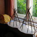 Najstarejši otroci morajo pred vstopom v šolo izdelati hišico iz lesa ali pa pleteno torbi