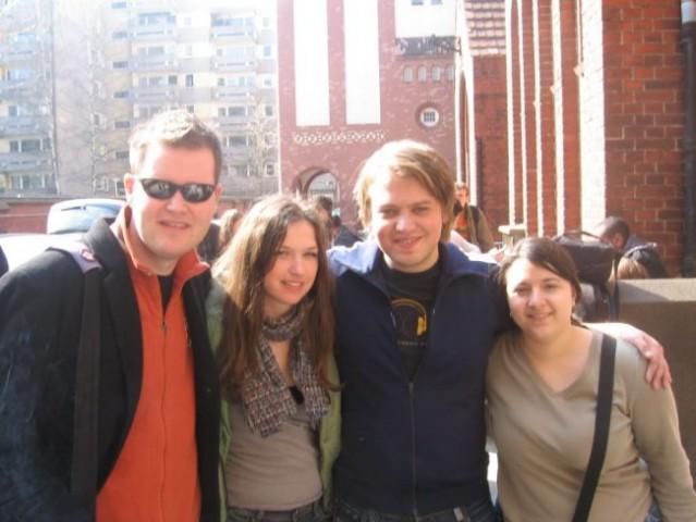 JEF Slovenija v Berlinu (marec 2007) - foto