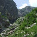 Pot pod noge ... proti vrhu Komarče