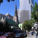 Stara cerkev v srediscu Montreala med stolpnicami