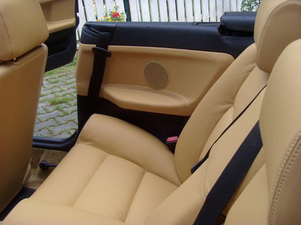 bmw e36 cabrio sitzbez ge ledersitze normal ebay. Black Bedroom Furniture Sets. Home Design Ideas