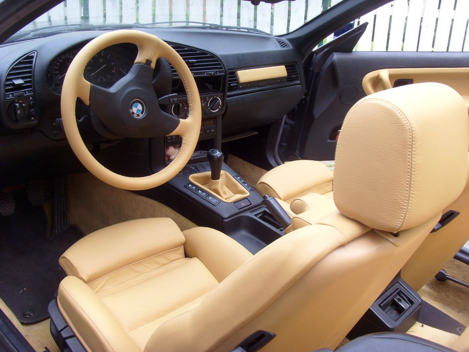 BMW 3 Series E36 Convertible Leather Seat Covers Genuine