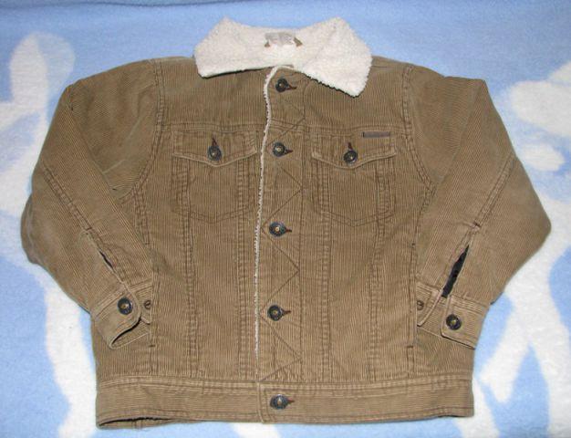 žametna jakna št. 128, 7€