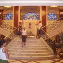 stopnišče aka. titanik na ladji v kairu