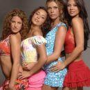 amapola, virginia, dalila y camelia