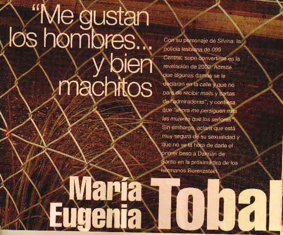 MARIA EUGENIA TOBAL - Mercedes - foto