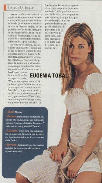 MARIA EUGENIA TOBAL - Mercedes - foto