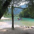 tolmin prizorišče soča river splash