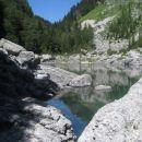 Ne tako kmalu, ampak prispeli smo tudi do zadnjega izmed sedmerih Triglavskih jezer, do Čr
