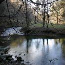 jezero v Bistri