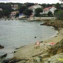 ppeščena plaža