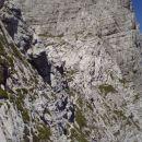 Pot proti bivaku Tarvisio (konec Vie Della Vitte)
