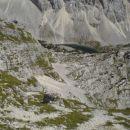 Jezero Ledvička z grebena