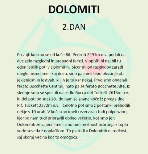 Dolomiti (15.-17.8.2019) - foto